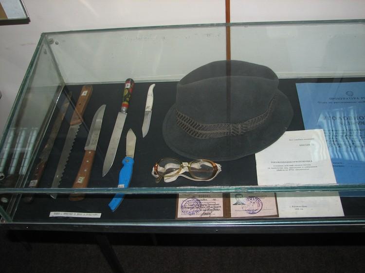 Личные вещи маньяка хранятся в музее донской полиции