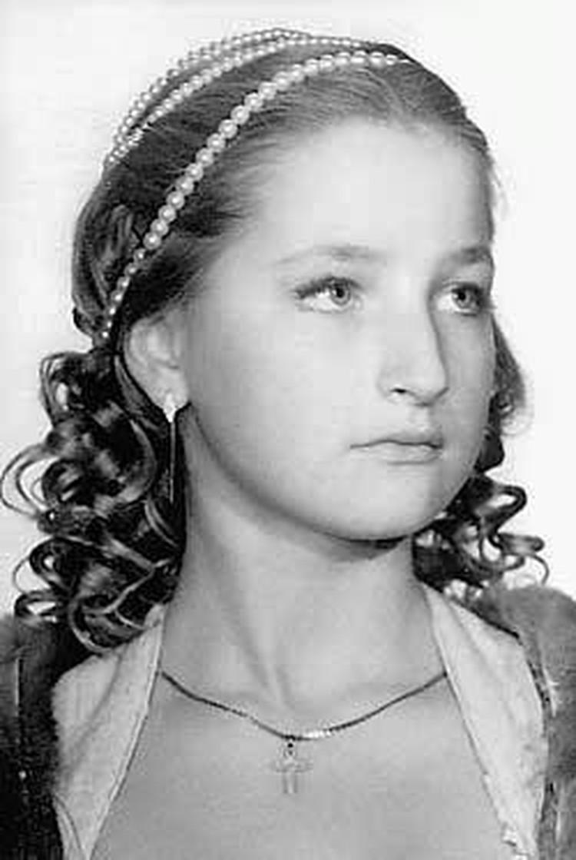 Мария Максакова в годы юности.