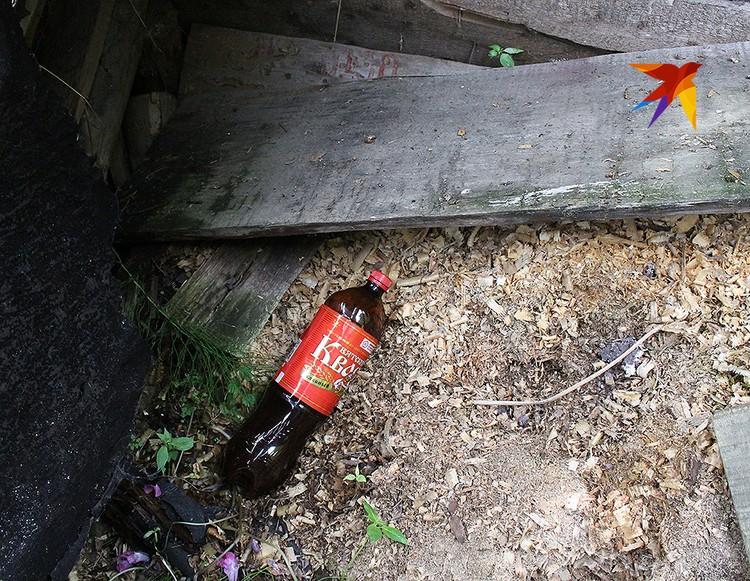 Бутылка с квасом, в которой он растворил сильнодействующий препарат. ФОТО Анна МАТАСОВА