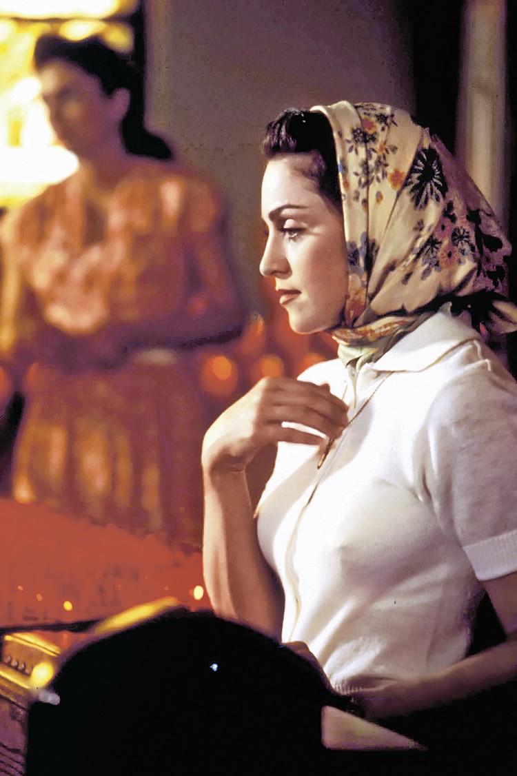 Мадонна в фильме «Их собственная лига» (1992 г.). Даже в церкви она умудряется выглядеть сексуально. Фото: ZUMAPRESS.com/globallookpress.com