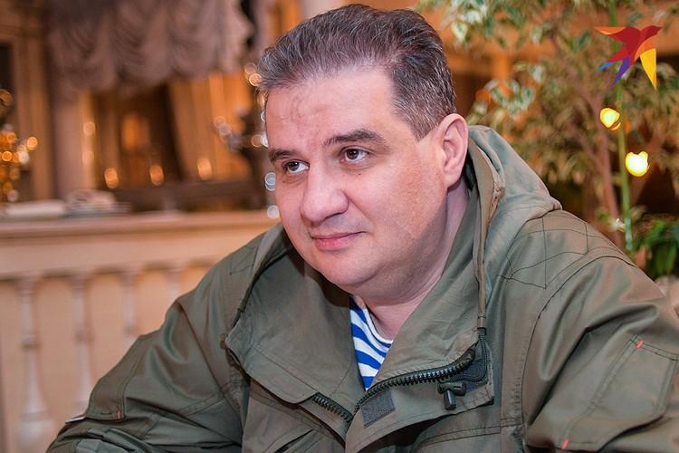"""Министр доходов и сборов ДНР Александр Тимофеев (""""Ташкент"""")."""