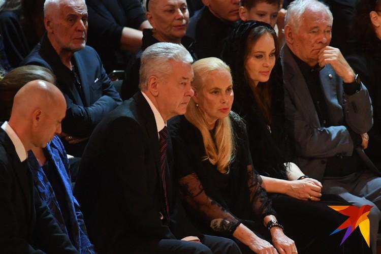 Сергей Собянин принял участие в церемонии прощания со знаменитым певцом.