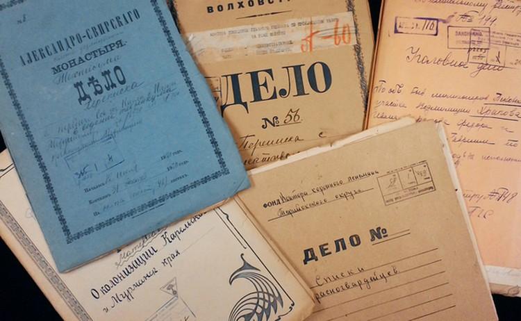 Каждое дело включает максимум 250 листов. Фото: Ленинградский областной государственный архив в Выборге