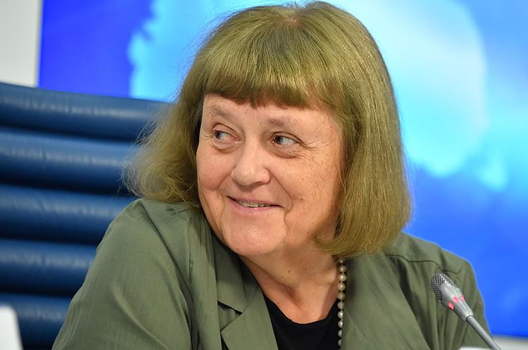 Летчик-космонавт, депутат Госдумы Светлана Савицкая