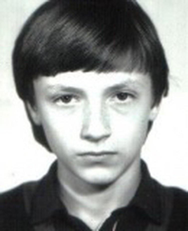 Таким Евгений уходил в армию 25 лет назад.