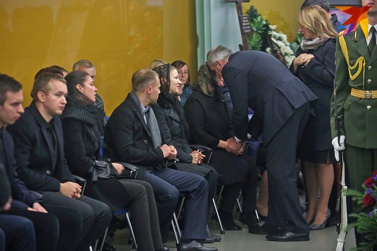 Сергей Румас выразил соболезнования семье Анатолия Капского.