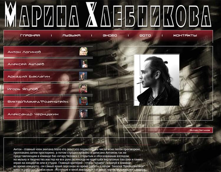 На сайте певицы Антон Логинов фигурирует как концертный директор певицы