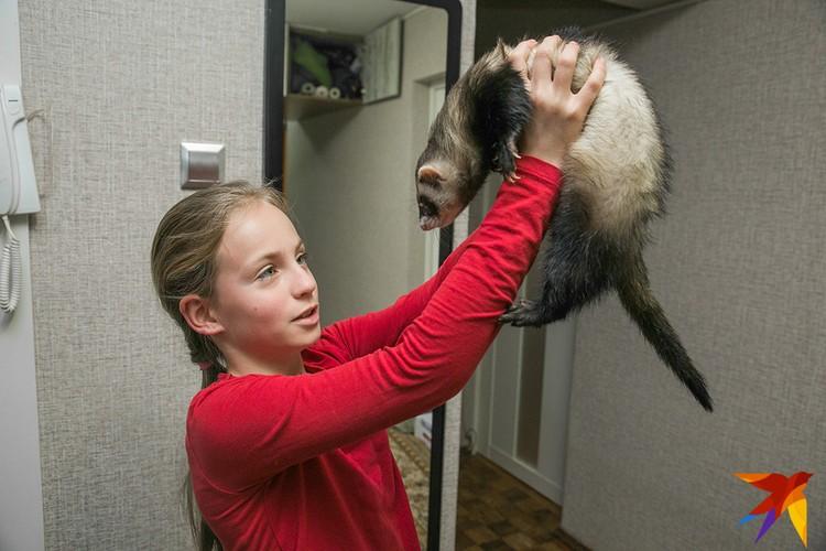 Сначала дочкам Александры хотелось, чтобы у них появилась собака, но теперь приоритеты сдвинулись.