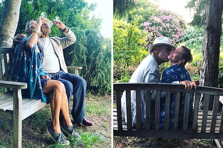 """""""Быть женой — это большая ответственность и труд, нужно работать, чтобы отношения развивались, а не умирали"""", - признается актриса. Фото: Инстаграм."""