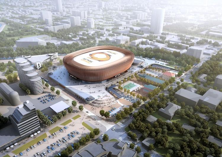 На крыше здания изобразят логотип компании УГМК. Фото: УГМК