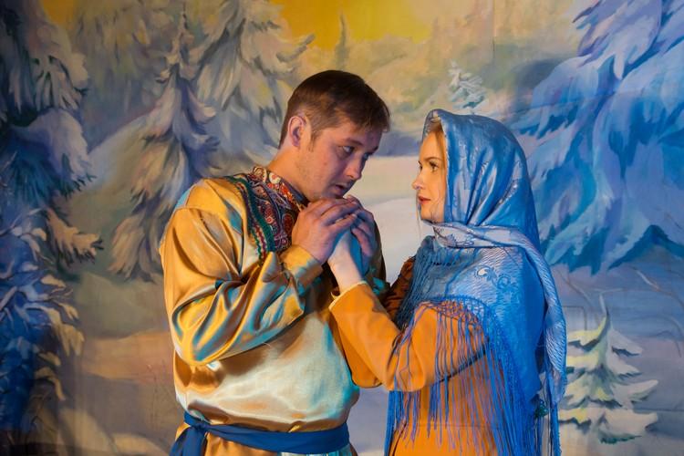 """Казачий театр покажет свою интерпретацию сказки """"Морозко"""". Фото: Казачий театр"""
