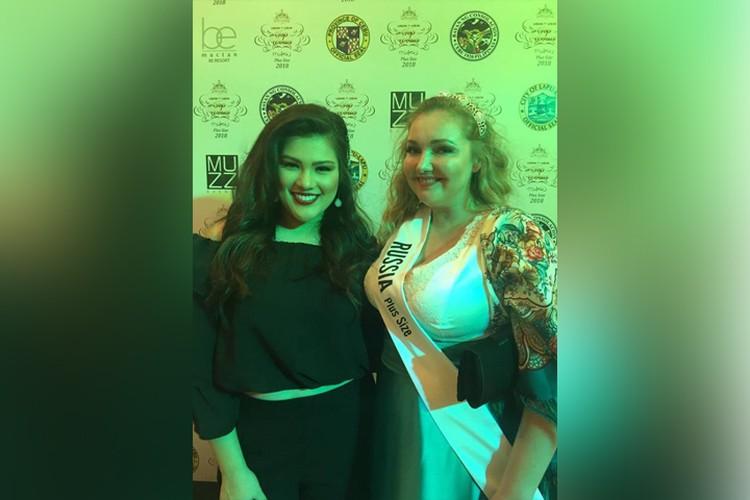 Мария Городничева стала второй вице-мисс конкурса моделей size plus.