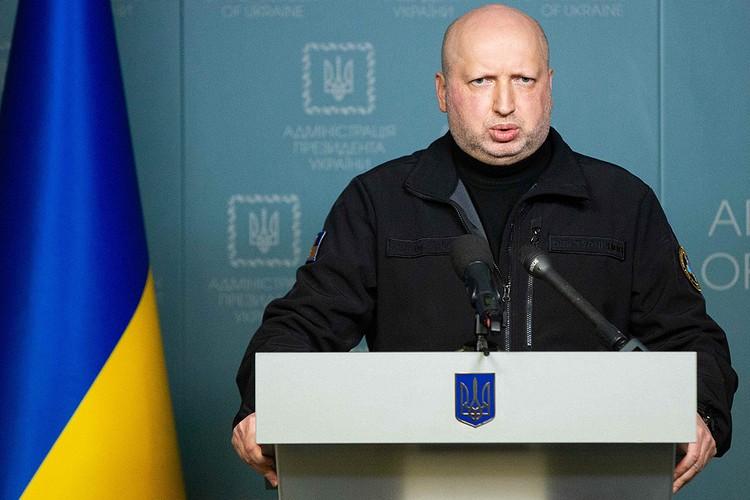 Глава Совета по нацбезопасности Украины Александр Турчинов.