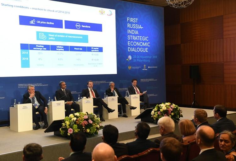 В стратегическом диалоге участвовали руководители государственных органов власти, ведущие экономисты, видные ученые и представители деловых кругов двух стран.