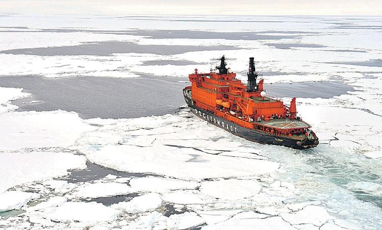 За 50 лет ледовый период в Северном Ледовитом океане сократился на 40 дней, а толщина льда уменьшилась на 40 процентов. Фото: Лев ФЕДОСЕЕВ/ТАСС