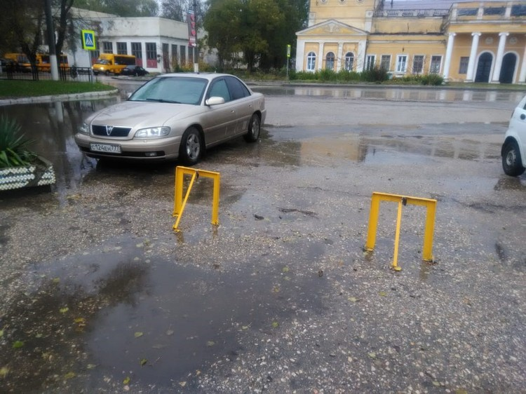 На территорию ограничили проезд машин. Фото: kerchpoliteh.ru
