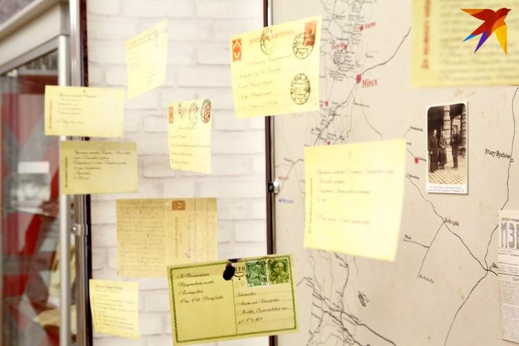 В таких карточках (музей сделал их реконструкцию) белорусы просили вернуть их на родину.