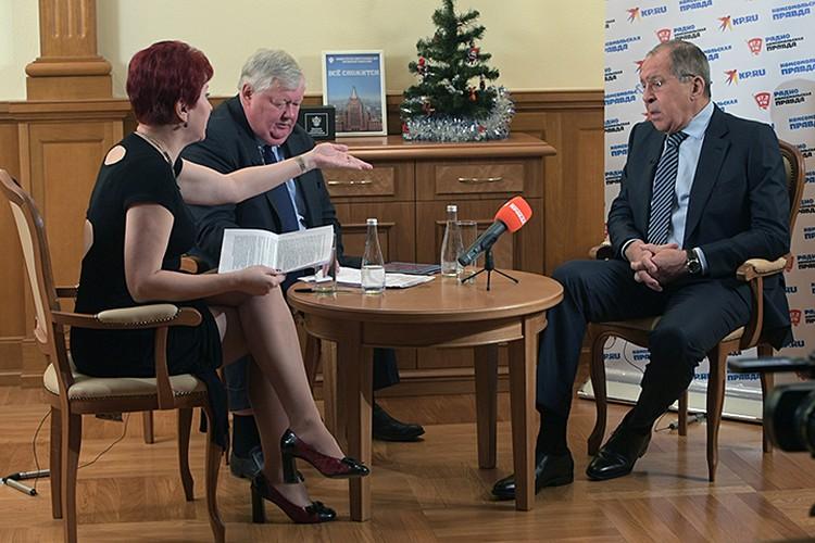 Приводим полный текст беседы министра с корреспондентами «Комсомолки» Дарьей Асламовой и Андреем Барановым