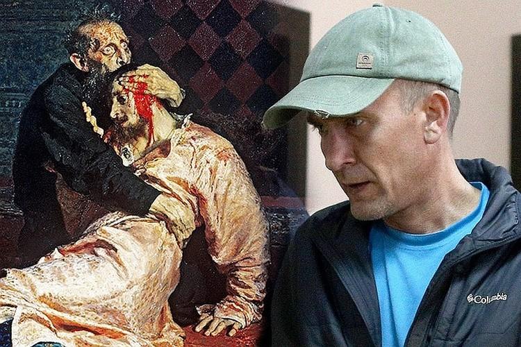 Картину в мае 2018 года повредил посетитель Игорь Подпорин. ФОТО АГН Москва/Никеричев Андрей