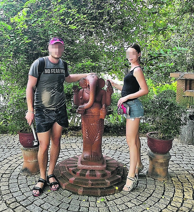 Владелец взорванной квартиры сейчас с женой на море. Фото: личная страничка в соцсети