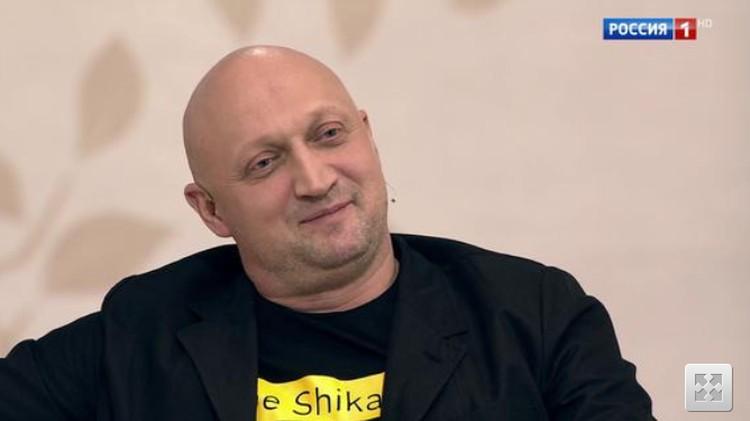 Гоша Куценко в программе «Судьба человека» рассказал, почему не сложился его брак с Порошиной. Фото: кадр программы.
