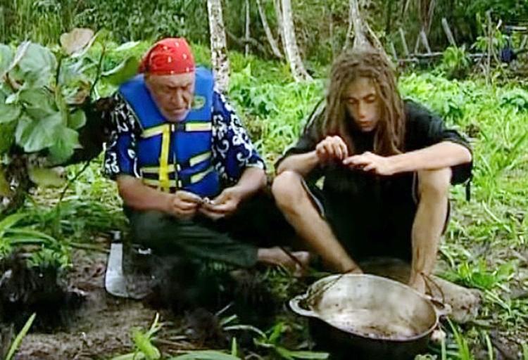 Дроздов и Толмацкий с другими участниками реалити-шоу жили на необитаемом тропическом острове между Панамой и Коста-Рикой