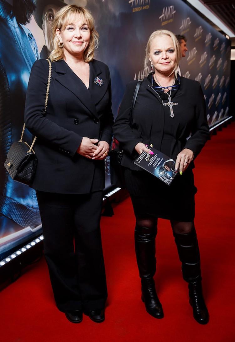 Арина Шарапова и Лариса Долина. Фото предоставлено организаторами