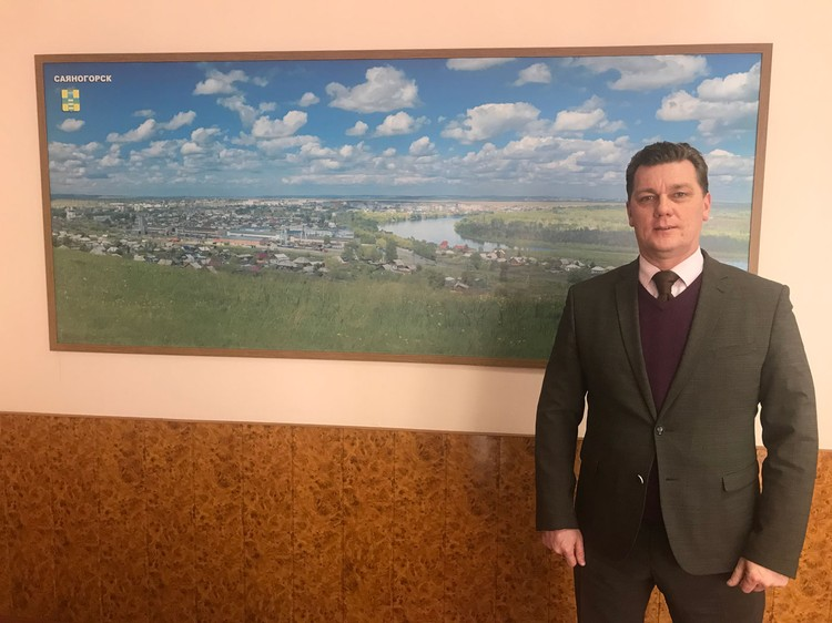 Новый мэр Саяногорска Михаил Валов.