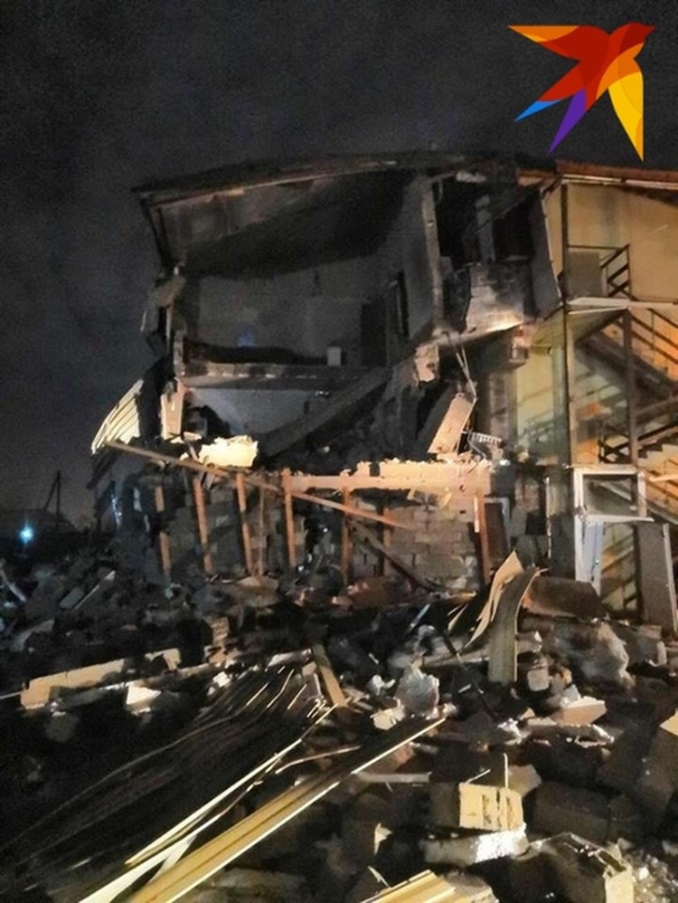 В результате взрыва пострадали несколько человек