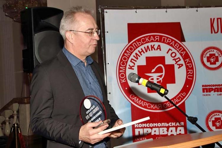 Михаил Константинов, директор клиники «Наука» и медицинской лаборатории «Наука».
