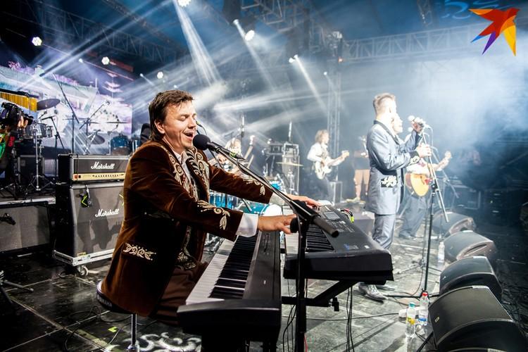 Под руководством Романа Козырева в концертах ансамбля появилось больше драйва. Фото: Анастасия Филипенко (предоставлено ансамблем)