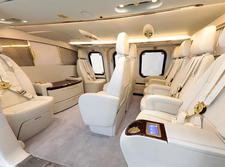Так выглядит салон вертолета в VIP-компоновке. Фото: leonardocompany.com.