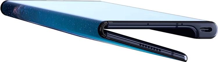 Huawei Mate X в согнутом состоянии толщиной всего 11 мм