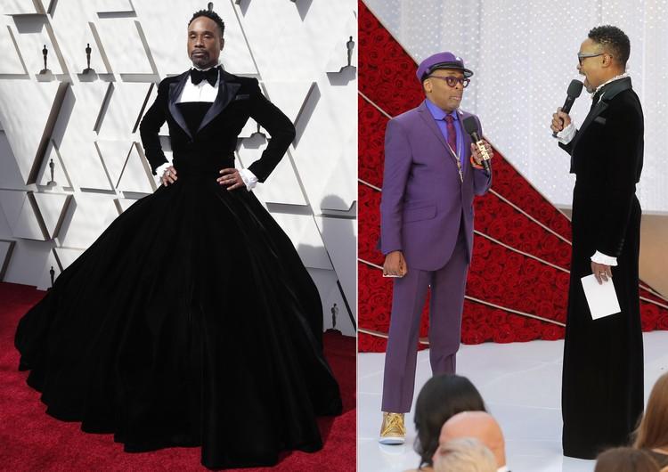 Билли Портер решил скрестить фрак с вечерним платьем