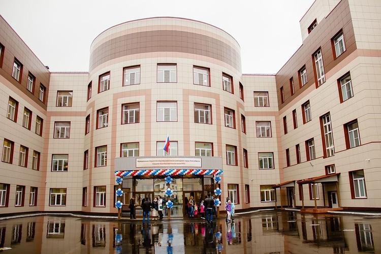 1 сентября школу № 82 открыли после реконструкции и возведения пристройки. Фото: Совет депутатов города Новосибирска