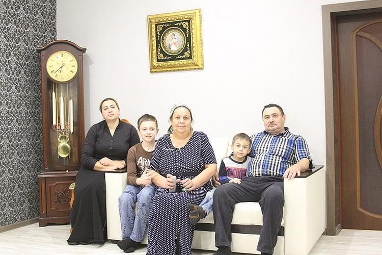Семья Гарватовых всерьез подумывает уехать из Сибая