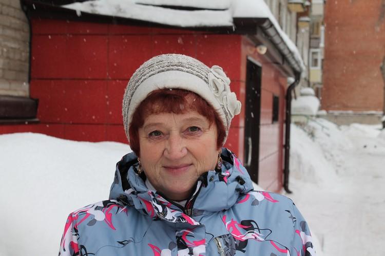 Жительница дома Людмила Пономарева Фото: автора