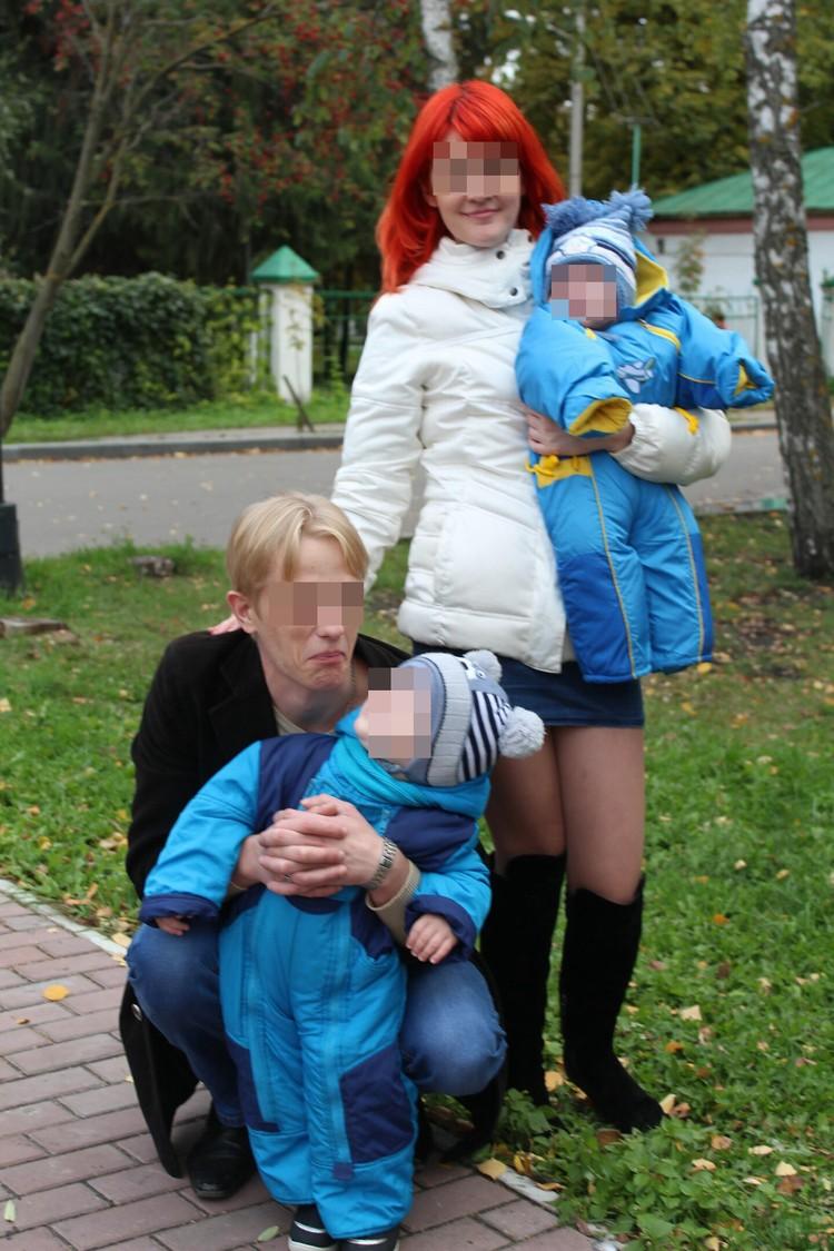 Счастливая пара воспитывала двух сыновей