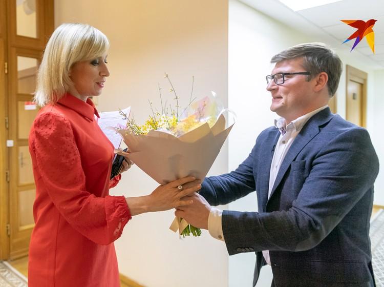 Цветы от «Комсомольской правды»