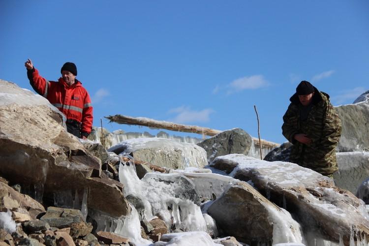 Причиной обрушения оползня стала вода - водохранилище подмыло древнюю сопку
