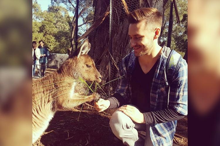 Вячеслав почти два года жил в Австралии. Фото из архива героя