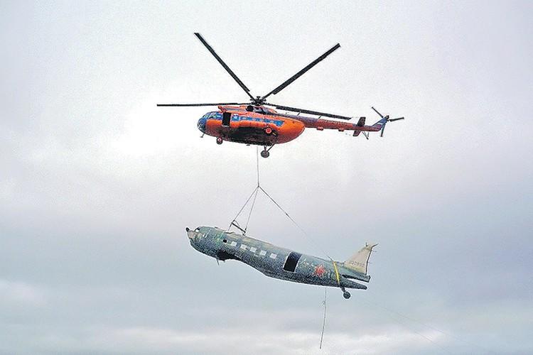Подъем Douglas C-47 из таймырской тундры признали одним из самых уникальных проектов Русского географического общества. Фото: регионального отделения Русского географического общества