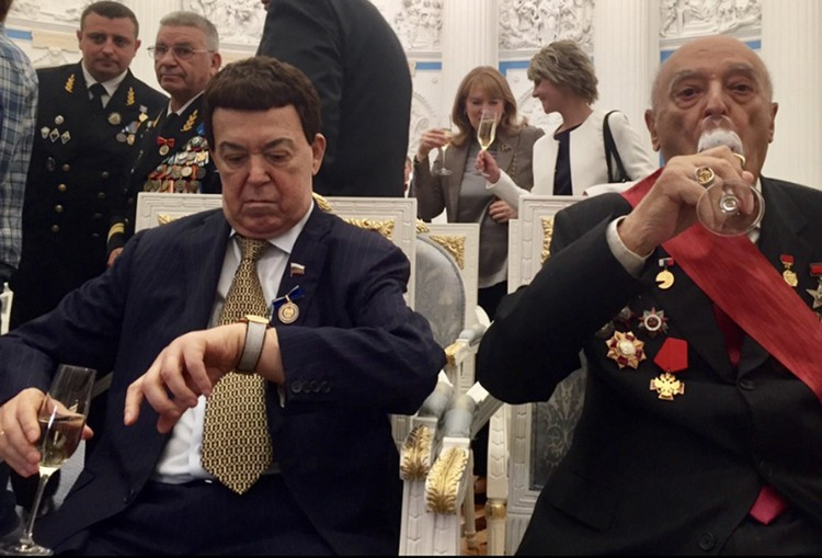 Владимир Этуш и Иосиф Кобзон.