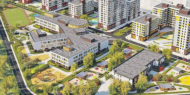 Здание-конструктор соберут из трех лучей. Фото: mos.ru