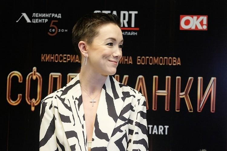 Актриса Дарья Мороз подготовилась к премьере и выглядела очень эффектно.