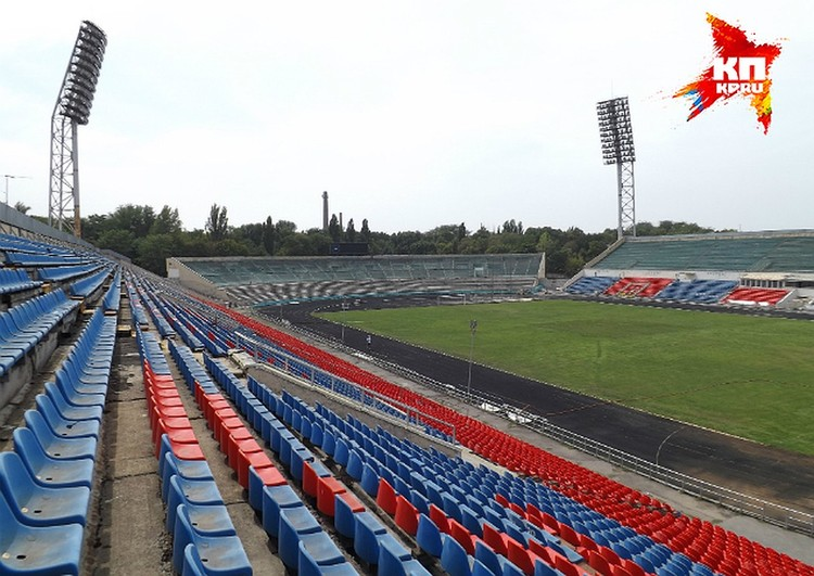 До реконструкции легендарная арена СКА в Ростове-на-Дону вмещал почти 33 тысячи зрителей...