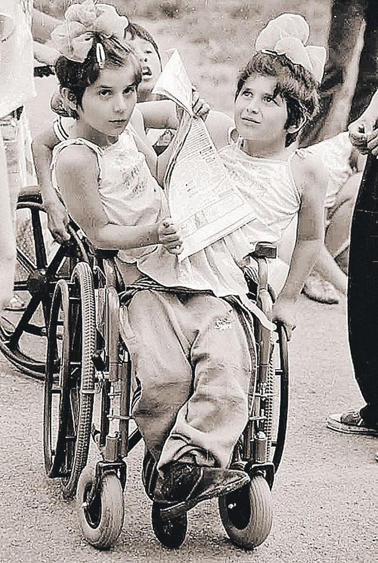 В одном теле сестры прожили 11 лет. Фото: Архив семьи Резахановых