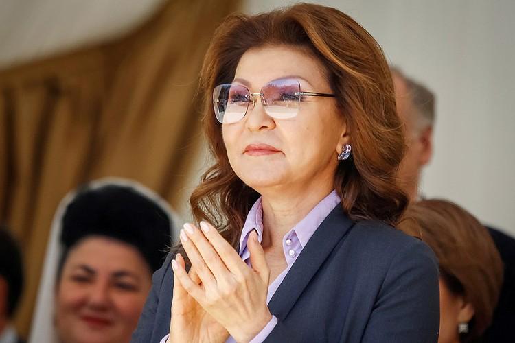 Дарига Назарбаева на празднике День единства народа Казахстана, 2016 год.