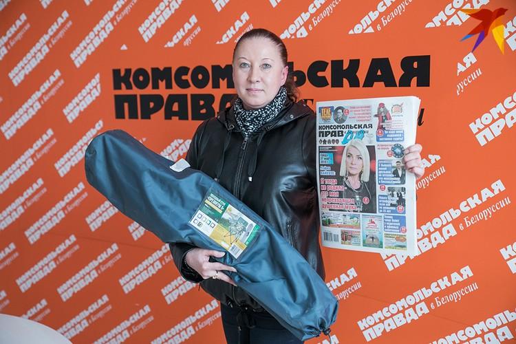 Подписка на «Комсомолку» принесла удачу Руденко Светлане Игоревне из Минска, которая увезла домой два складных стула для отдыха на природе.
