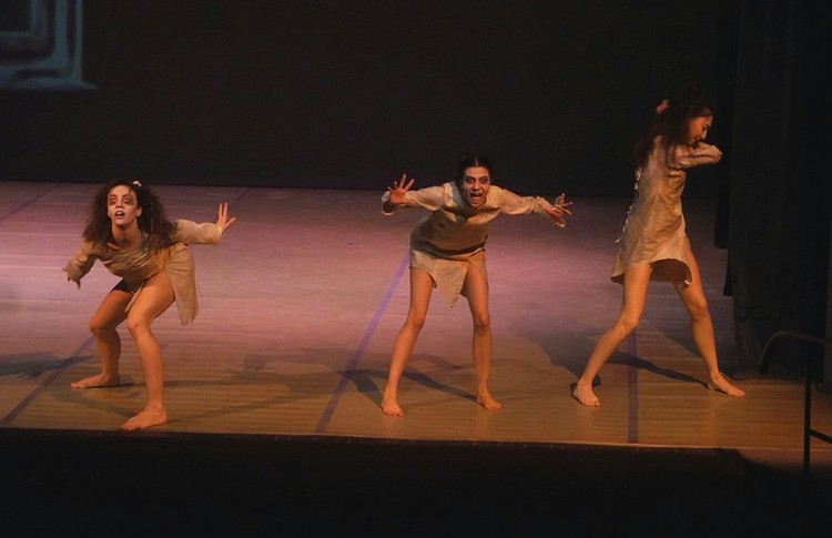 """Значительная часть действия балета """" Доктор Никто"""" происходит в клинике для душевнобольных. Фото: Дмитрий ЧЕРНОВ"""